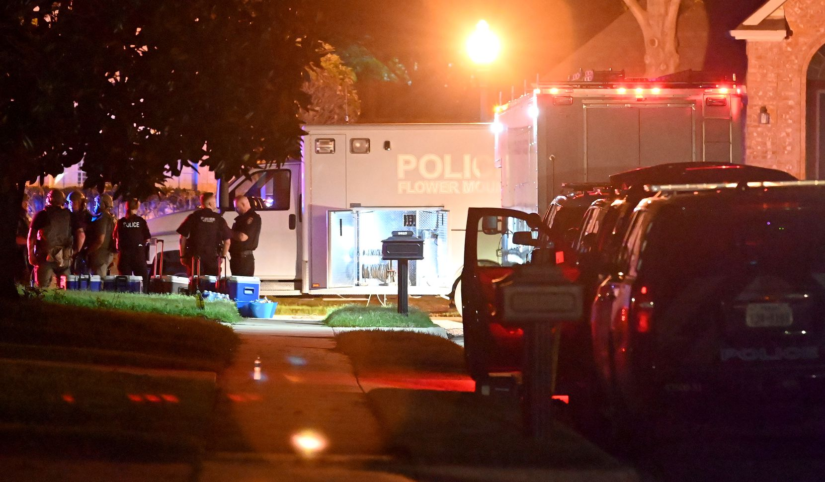 Police worked the scene on Termaine Drive late Wednesday, May 26, 2021.