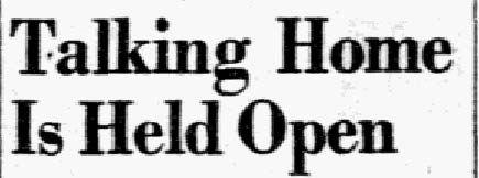 Headline published on Nov. 18, 1938.