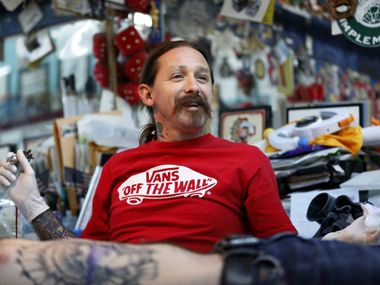 "Deep Ellum's Oliver Peck has become a star of the tattoo world, serving as a judge on TV's ""Ink Master"" and once holding the record for most tattoos done in 24 hours."