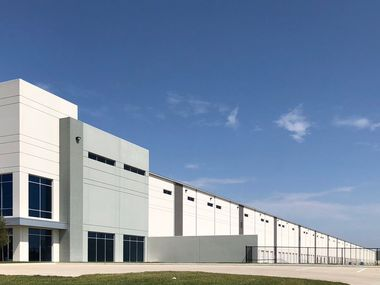 The Southlink Logistics Center building near I-20 was built by Hines and is occupied by Amazon.