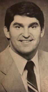 U.S. Sen. Joe Manchin, when he was 35 years old in 1983.