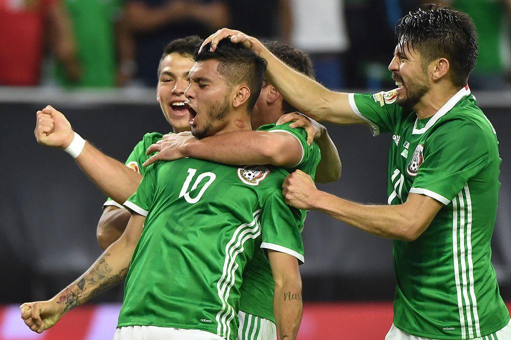 Tecatito Corona anotó el gol del empate. Foto GETTY IMAGES