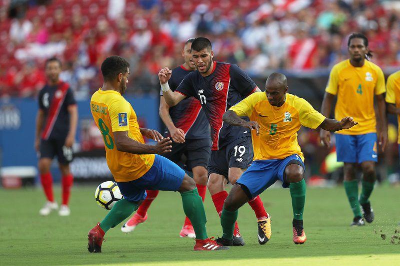 (19) Ulises Segura y la selección costarricense vencieron 3 a 0 a Guyana Francesa el viernes en Frisco por la Copa Oro de Concacaf. Foto OMAR VEGA para AL DÍA