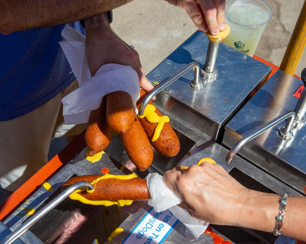 Fletcher's corny dogs are among the State Fair foods that are discounted on Thrifty Thursdays.