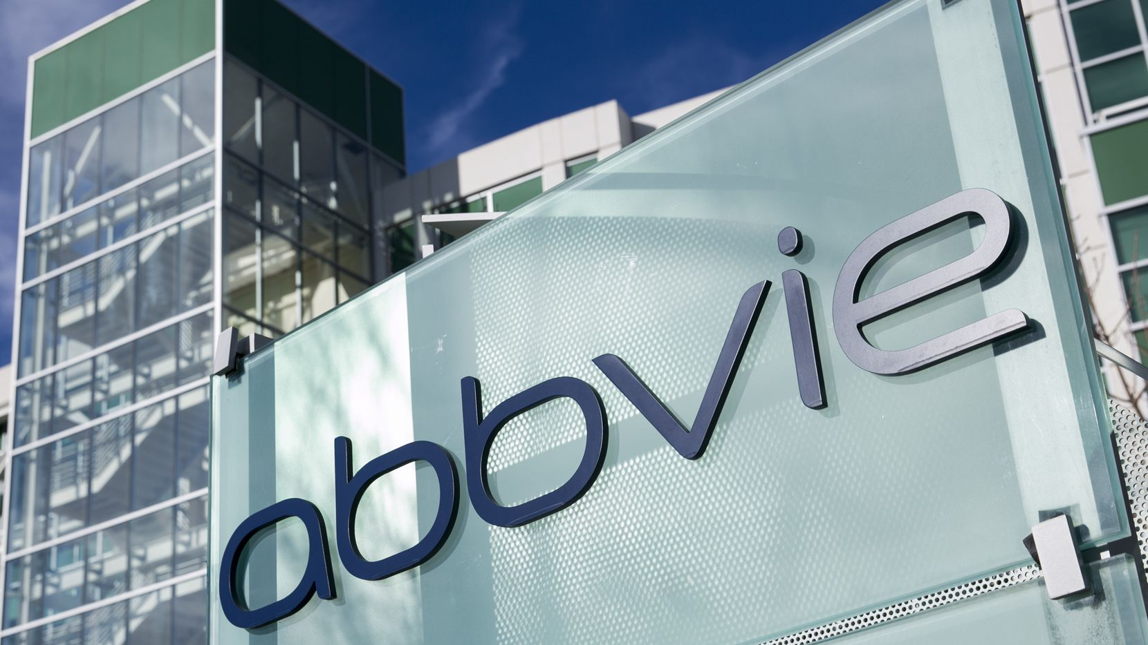 An AbbVie office in Redwood City, Calif.