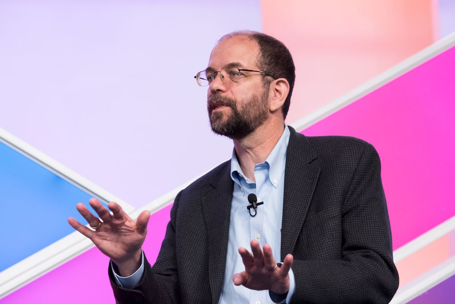 Toyota Research Institute CEO Gill Pratt speaking at the Aspen Ideas Festival in 2016.