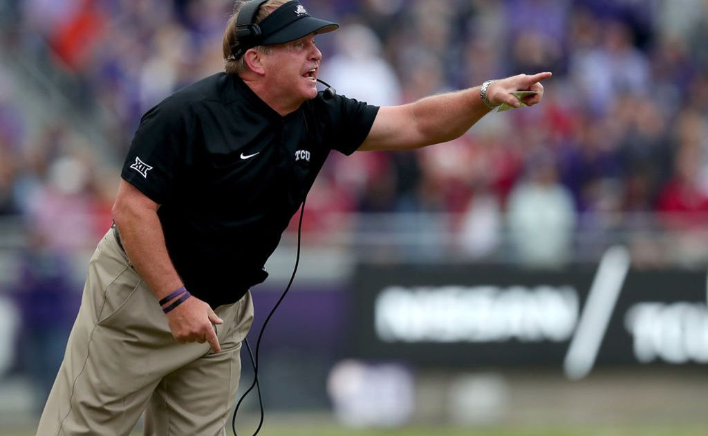 This is the difference between TCU fighting for bowl eligibility or being a Big 12 contender