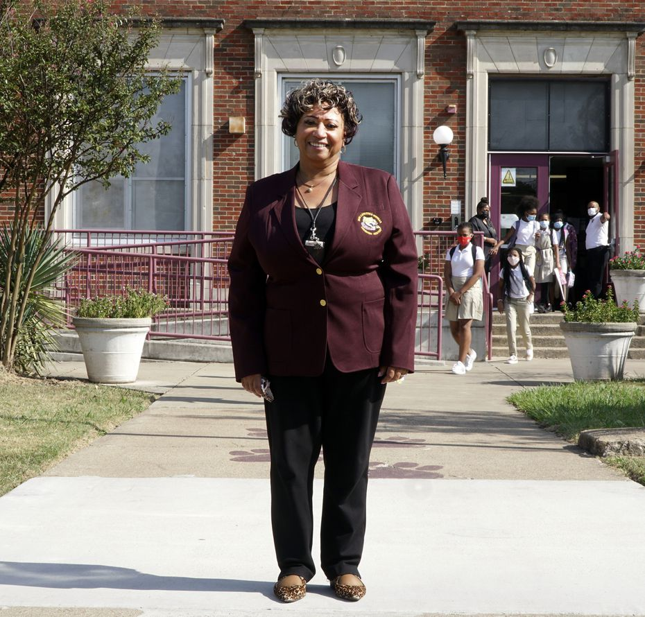 When Alpher Garrett-Jones became principal of Paul L. Dunbar Learning Center in 2018, the elementary school was two points away from failing state academic standards. After DISD instituted its ACE model at Dunbar, the percentage of students passing STAAR exams shot up roughly 25 percentage points.