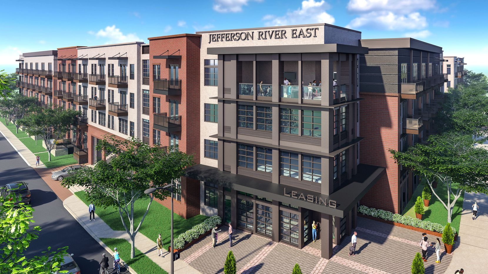 Builder JPI's Jefferson River East apartments in Fort Worth will have more than 400 units.