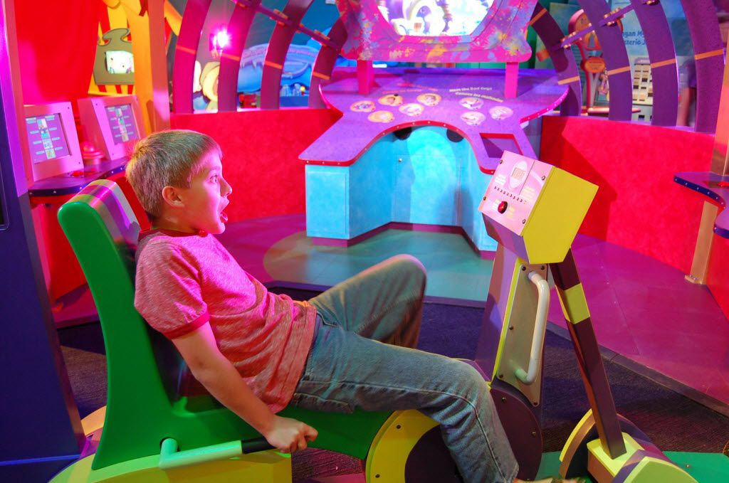 The Frisco Museum pass includes admission to four museums, including the Sci-Tech Discovery Center.