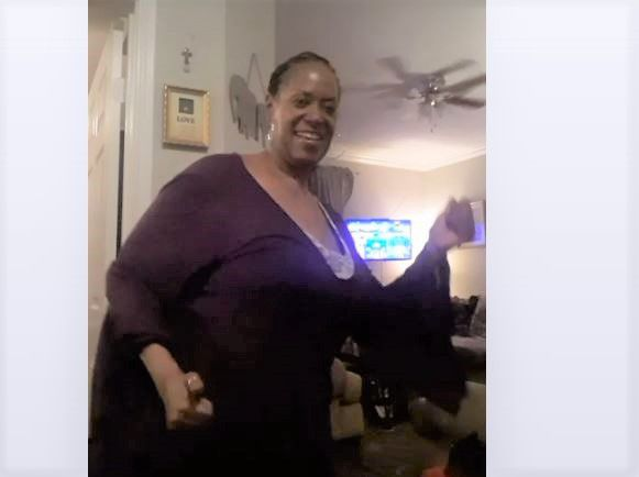 In this screen capture, Renza Lewis dances to celebrate the 60th anniversary of The Senior Source, which she says saved her life after retirement.