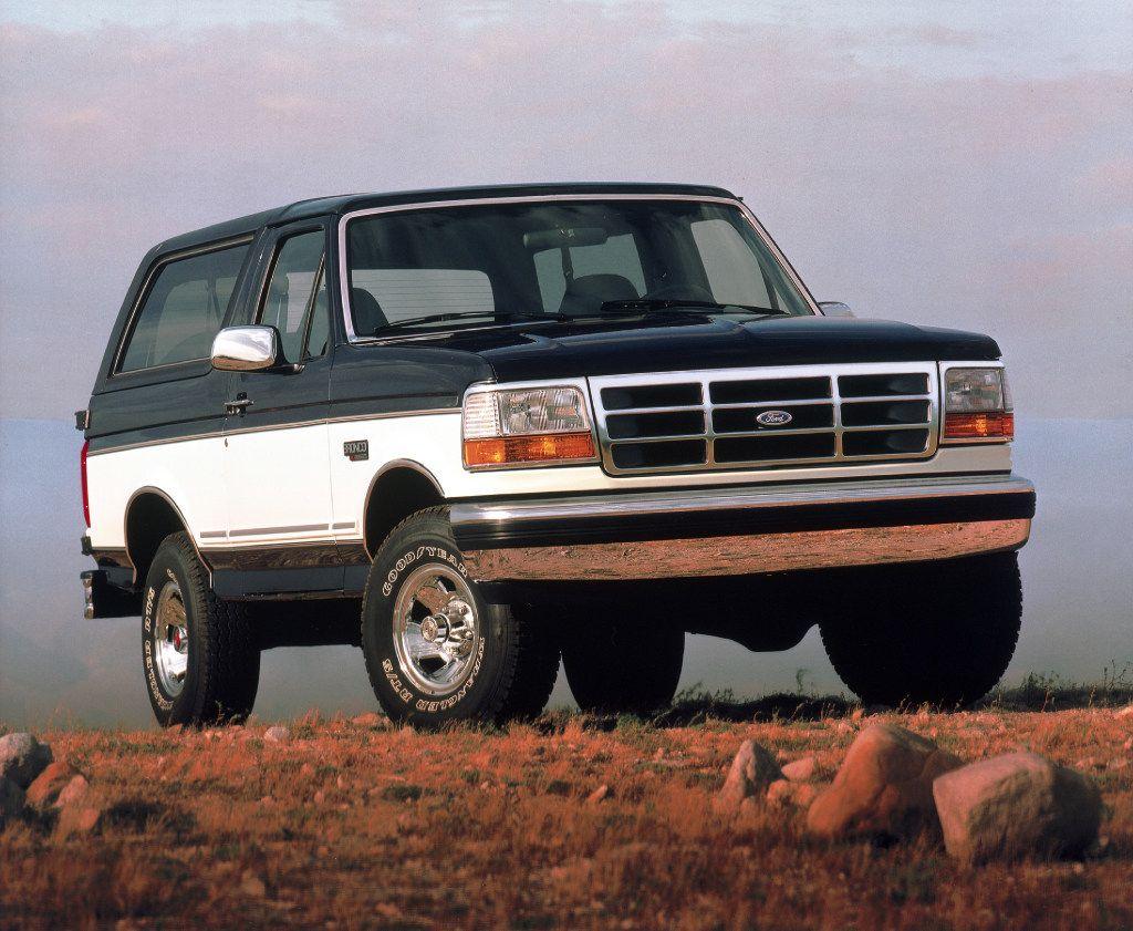 1993 Ford Bronco XLT.