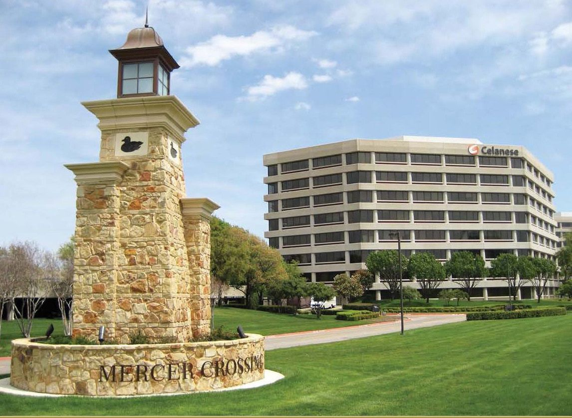 The Browning Place office campus on LBJ Freeway is owned by Pillar Commercial.