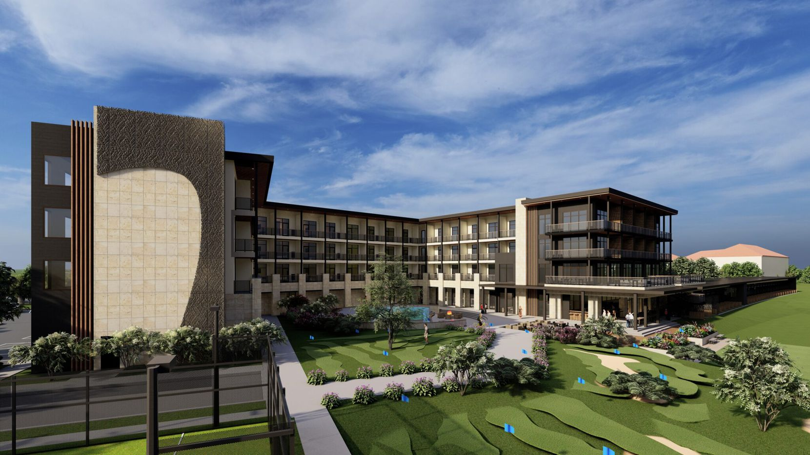 The RiverPark Arlington will have 87 rooms.