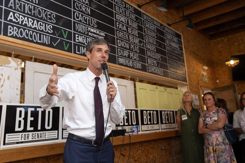 Interesting fact: Rep. Beto O'Rourke hosted an event for supporters at Mudhen Meat and Greens in Dallas in 2018.