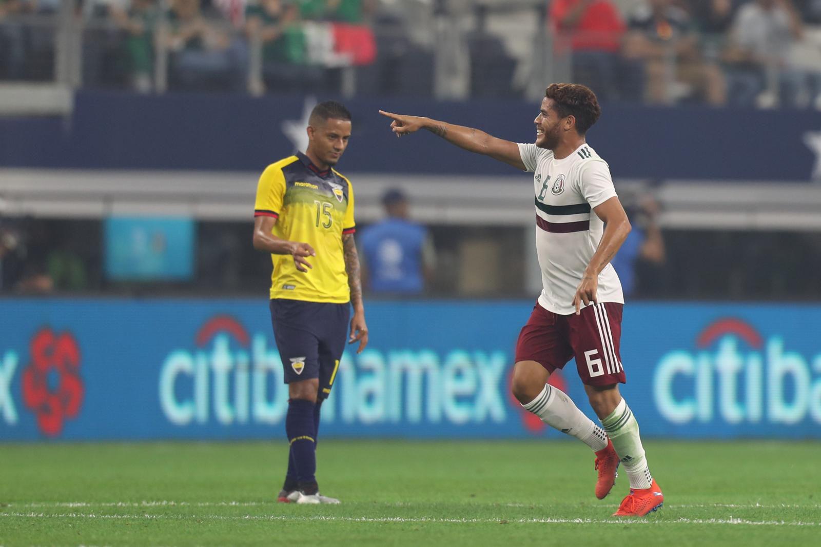 Jonathan Dos Santos festeja su gol. Foto de Omar Vega para Al Día