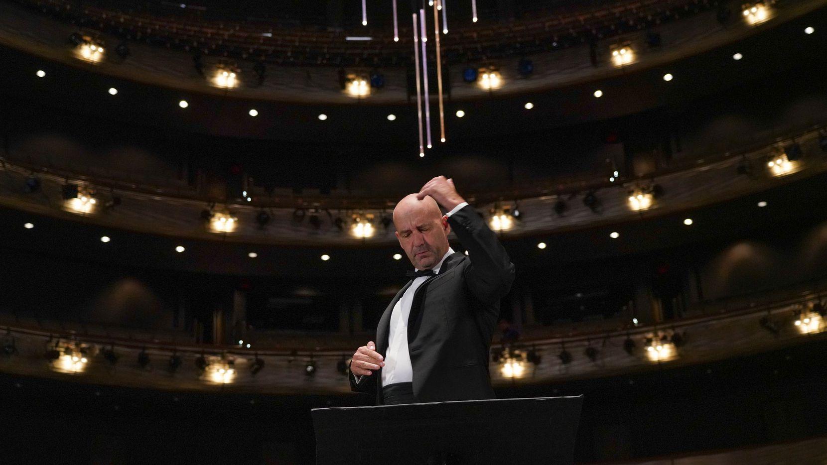 Dallas Opera music director Emmanuel Villaume