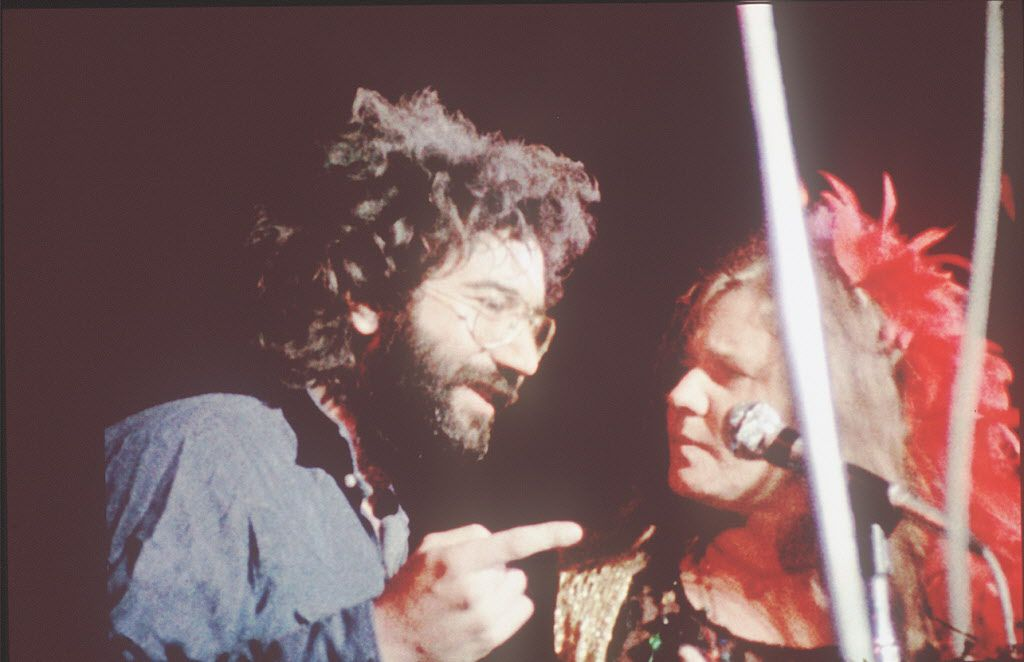Jerry Garcia and Janis Joplin are featured in the documentary Festival Express.