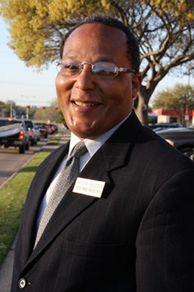 Kevin Felder, a candidate for Dallas City Council District 7.