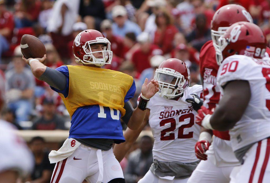 Austin Kendall Oklahoma Sooners Jordan Football Jersey - Red