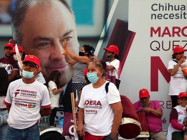 Simpatizantes de Morena participaron al gran cierre de campaña el pasado 30 de mayo.