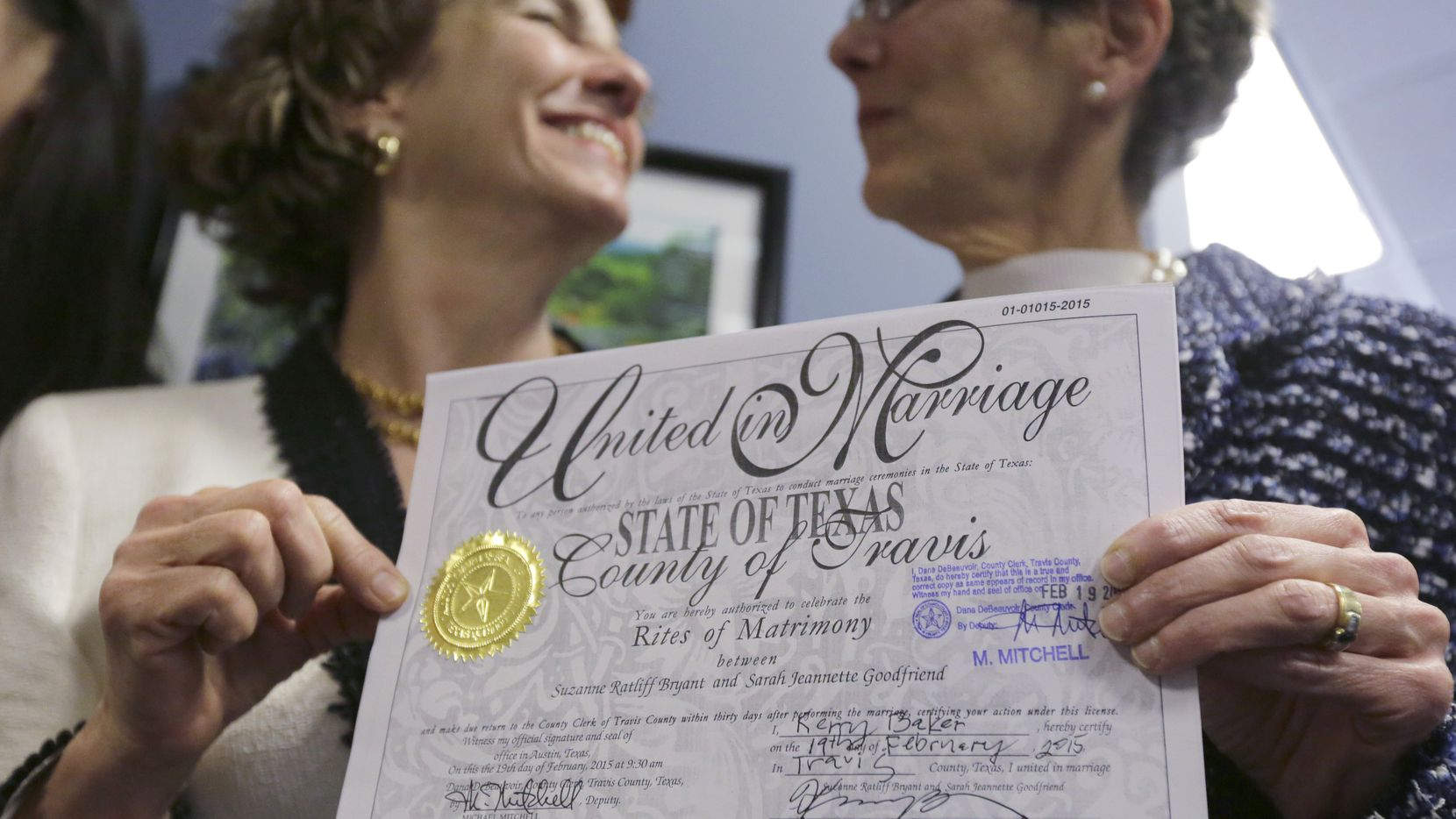 Suit Filed Challenging Race Question For Virginia Marriage License