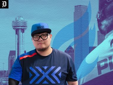 """Former New York Excelsior star Kim """"Pine"""" Do-hyeon came out of retirement to sign with the Dallas Fuel in May 2021."""