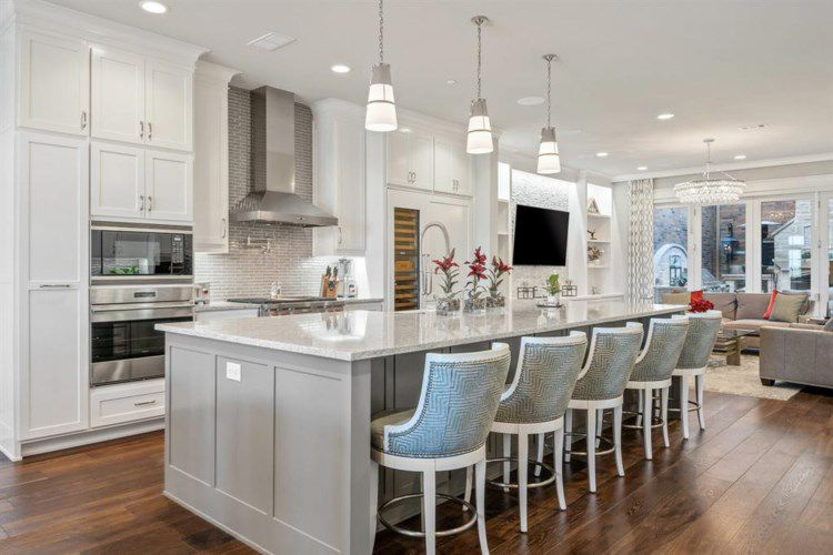 The $1.55-million townhome is located in Southlake Town Square.
