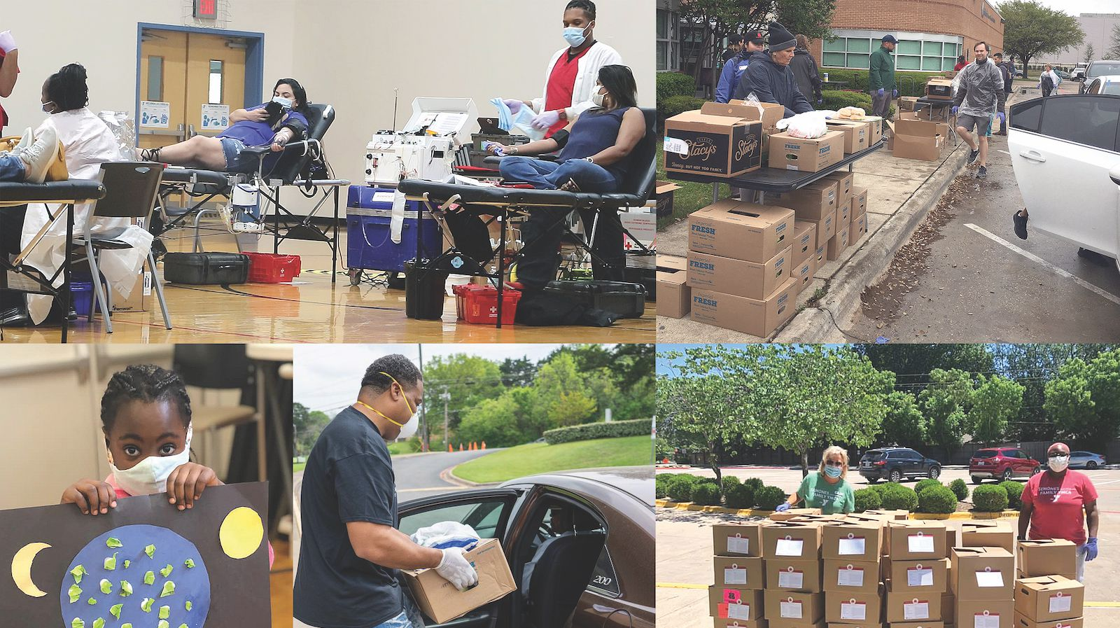 From after-school programs for students to sports activities for adults, life-saving blood drives to hunger-ending food drives, the YMCA of Metropolitan Dallas impacts the community in far-reaching ways.
