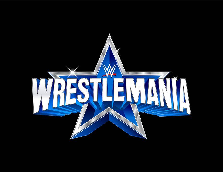 A sneak peek at WWE's WrestleMania 38 logo.