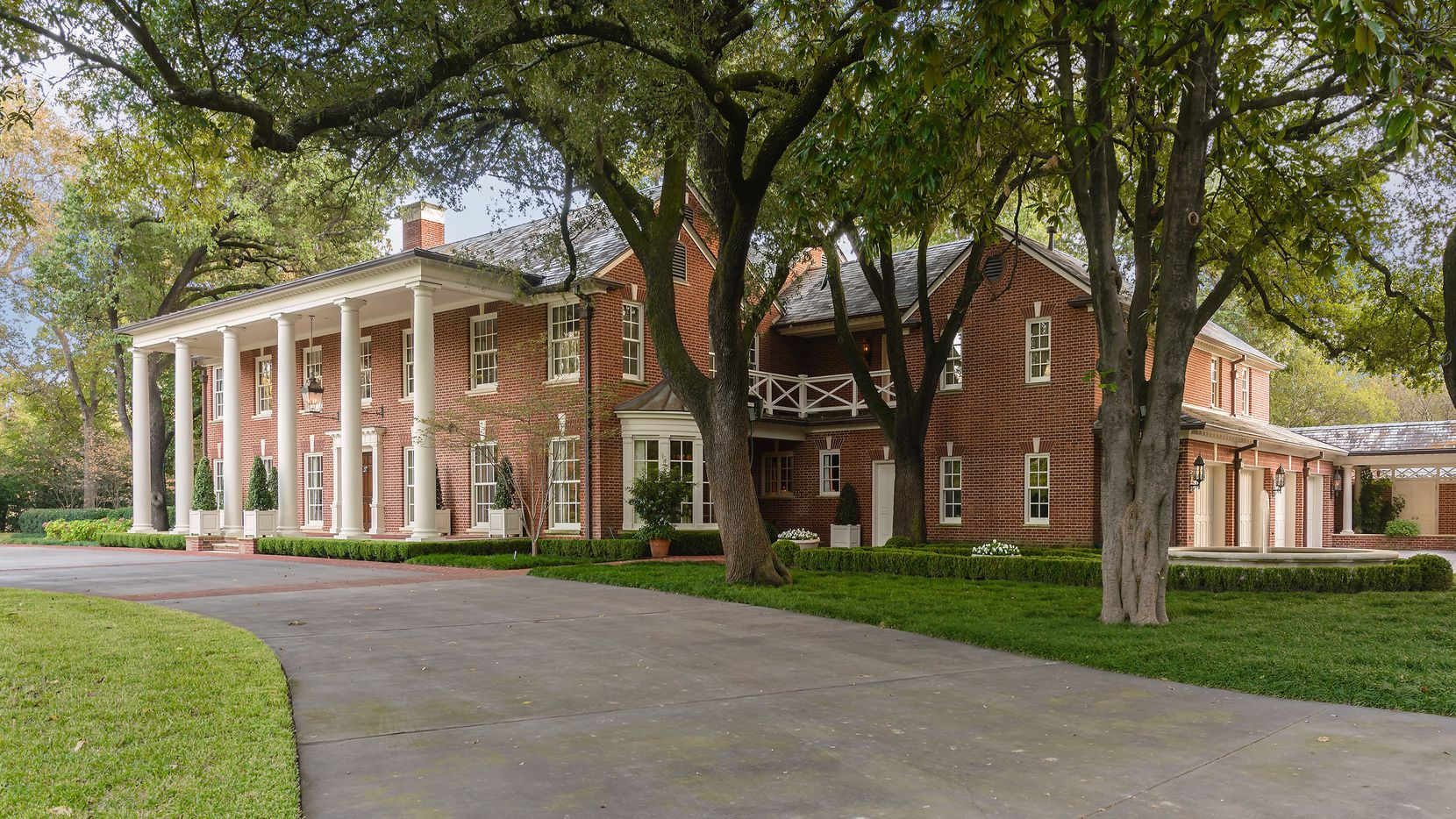 The Park Lane mansion used to film interior scenes of Southfork for the TV show Dallas is on the market for almost $13 million.
