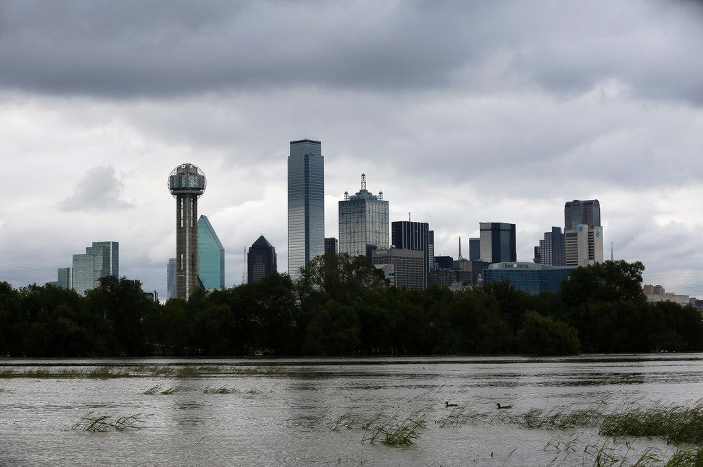 After almost no rain this summer, Dallas had record-breaking rain in October. That, folks, is climate change.