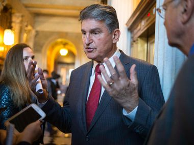 """Sen. Joe Manchin is a make-or-break senator. As the 50th vote in a tied Senate, he's the ultimate dealmaker. Watchdog Dave Lieber watched him make his first big political deal almost 40 years ago. """"He's a horse trader supreme,"""" Lieber writes."""