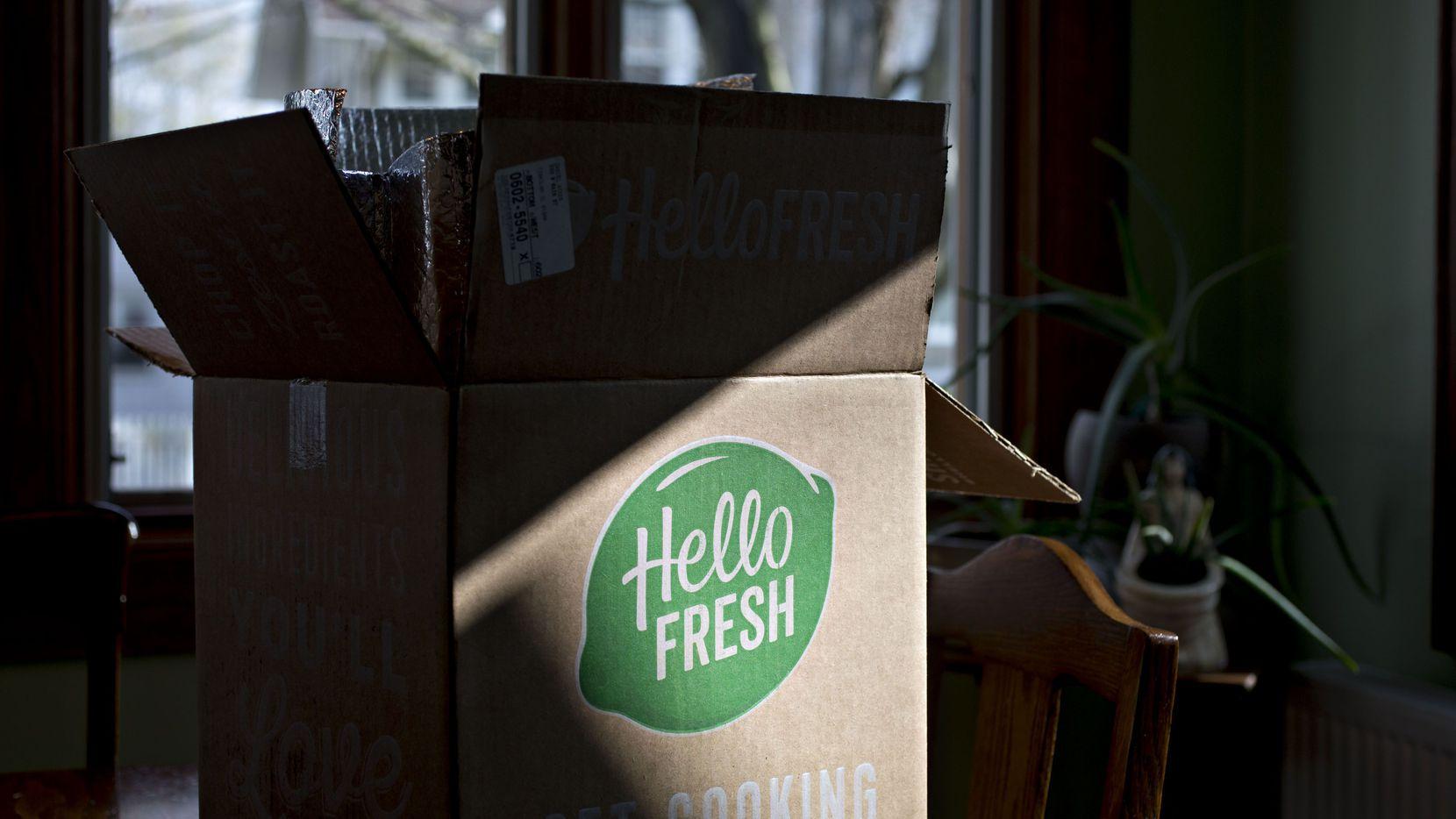 HelloFresh, la empresa que reparte kits de comida para preparar, anunció una expansión en el Norte de Texas.