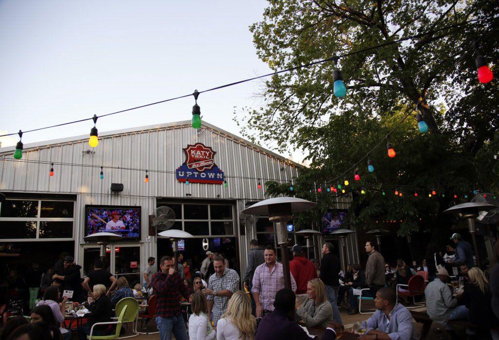 The Katy Trail Ice House in Dallas is pictured in this file photo. (Kye R. Lee/The Dallas Morning News)