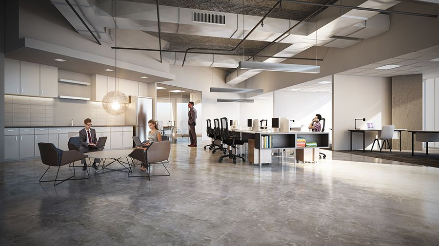 Vacant office space in the Oak Lawn tower will be renovated into spec office suites.