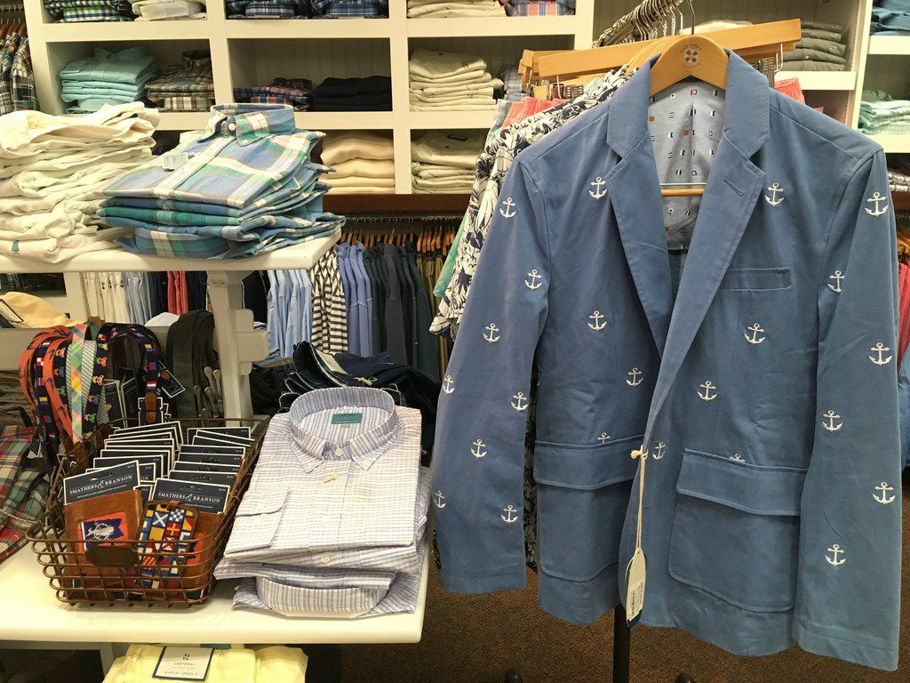 In addition to its famous line of Nantucket Reds clothing, Murray's Toggery Shop also sells other preppy items.