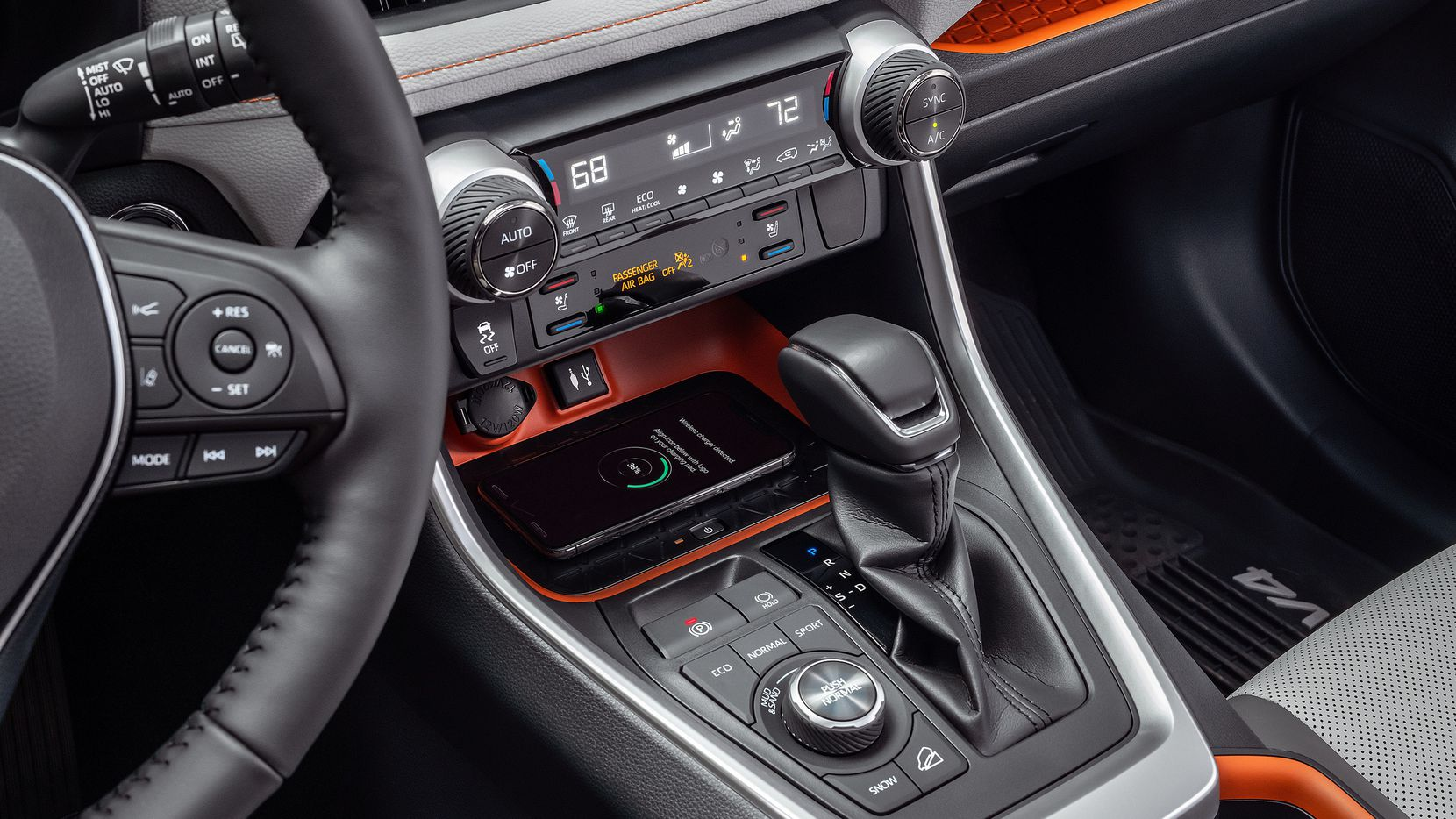 The Adventure's orange trim brings new attitude to the popular SUV line.