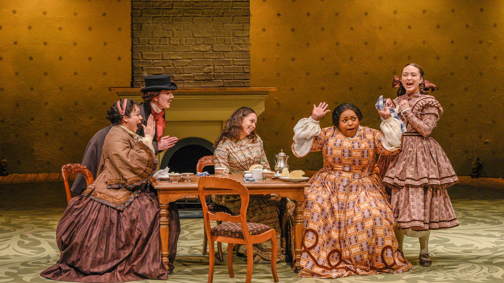 """A scene from Dallas Theater Center's production of """"Little Women,"""" which ran at the Kalita Humphreys Theater."""