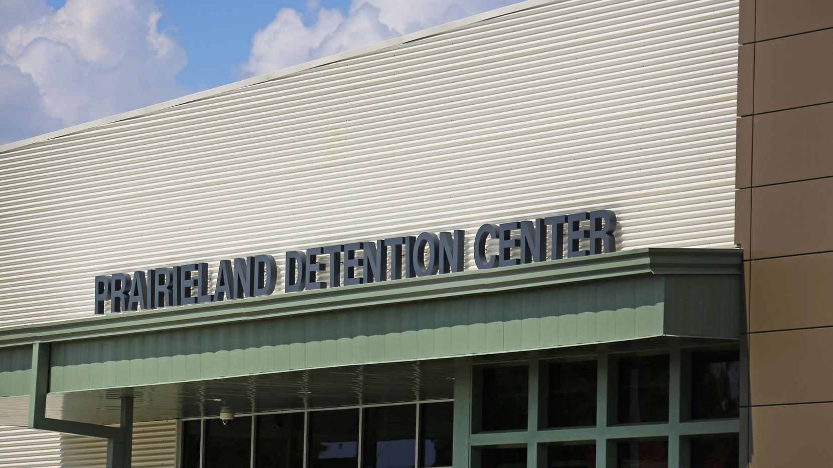 The Prairieland Detention Center in Alvarado is photographed on Sept. 15, 2016, a few months before it officially opened.