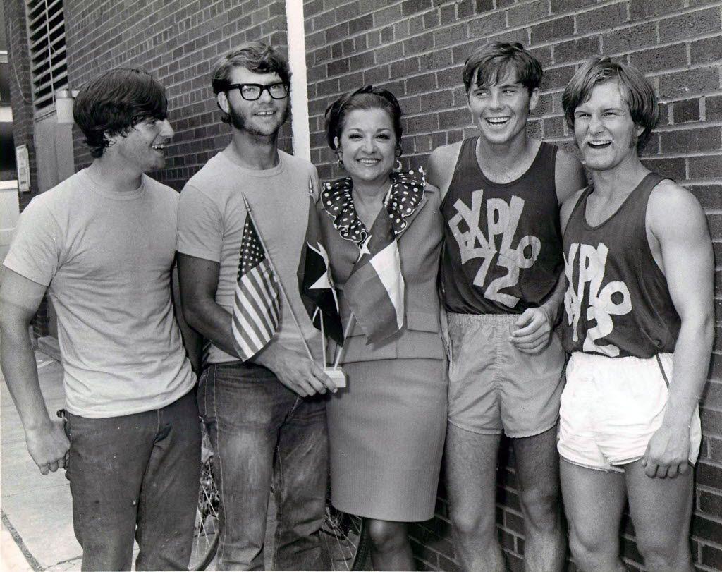 From left: Bill Collom of Denver, Steve Houp of Denver, Dallas City Council member Anita Martinez, Dennis Swift of Pasadena, CA and Ray Womack of Denver.