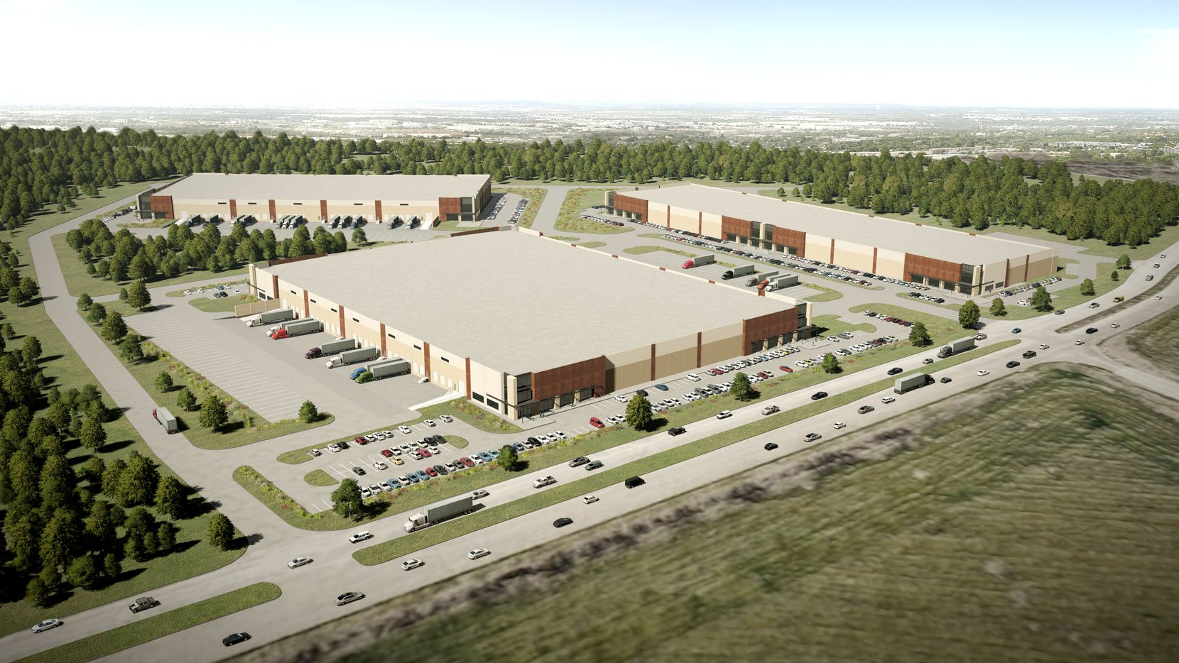 The 46 Ranch Logistics Park is in south Fort Worth.