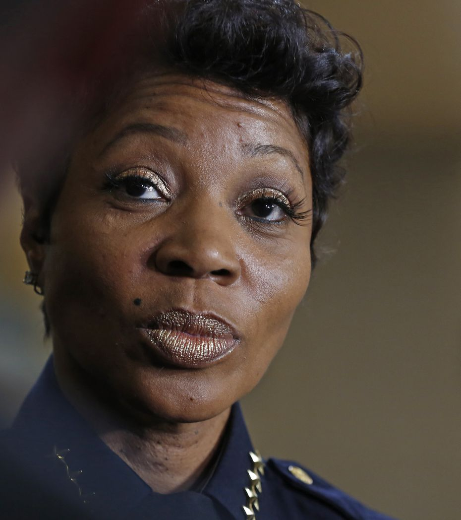 Dallas Police Chief U. Reneé Hall fired Amber Guyger 18 days after she killed Botham Jean. She has since announced an internal investigation into conduct brought to light during Guyger's murder trial.