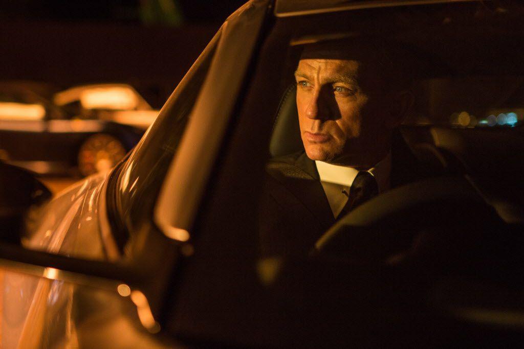 Daniel Craig is Bond, James Bond, in Spectre.