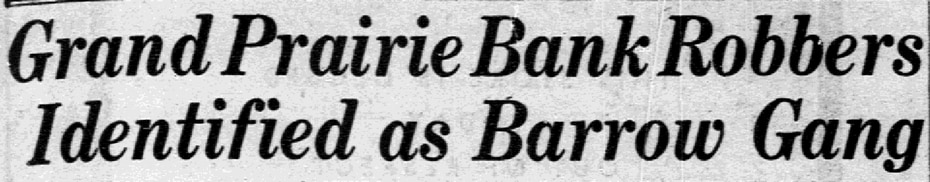 Headline from article published March 20, 1934.