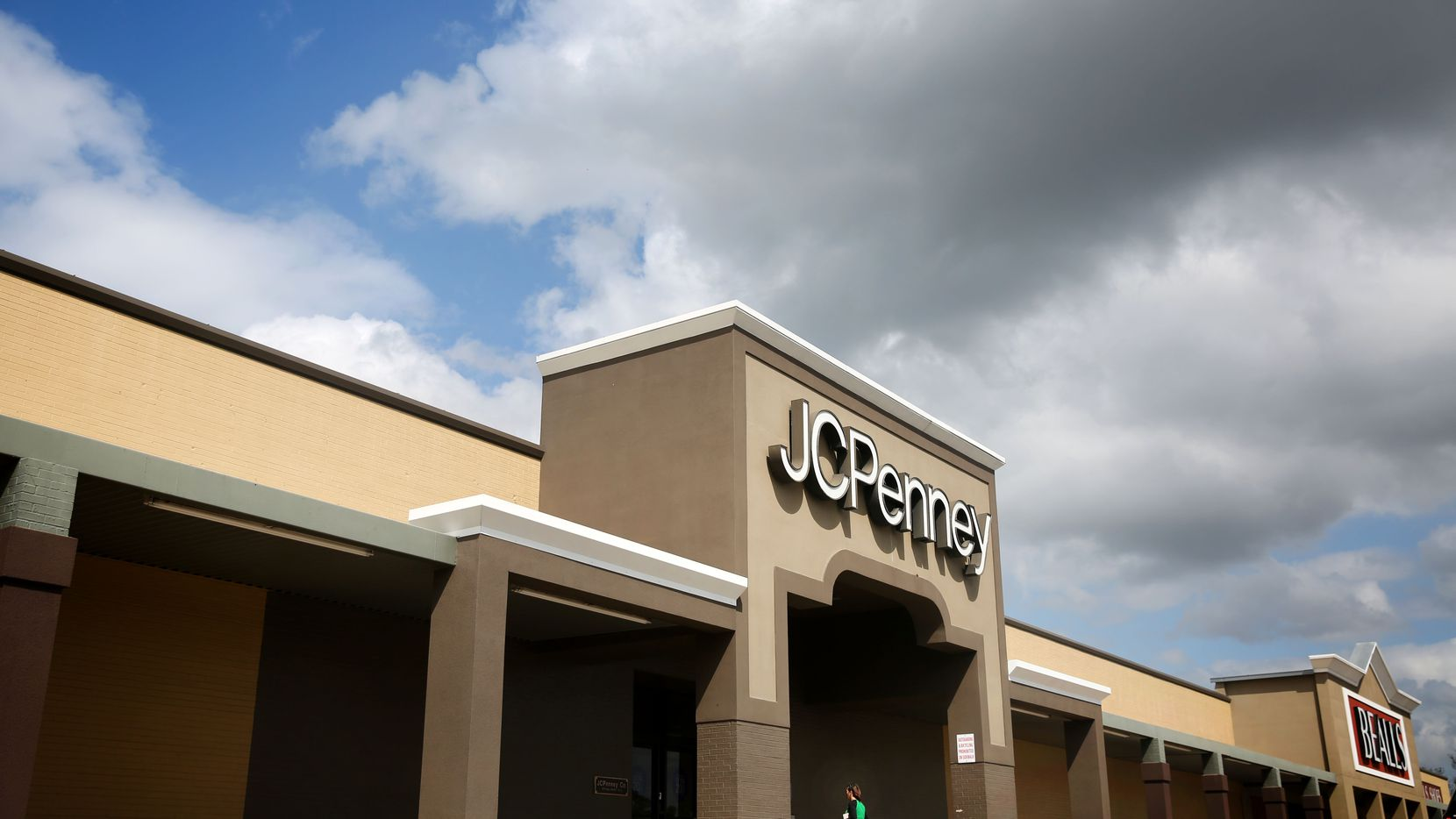 Exterior of J.C. Penney in Athens, Texas that closed a couple years ago.