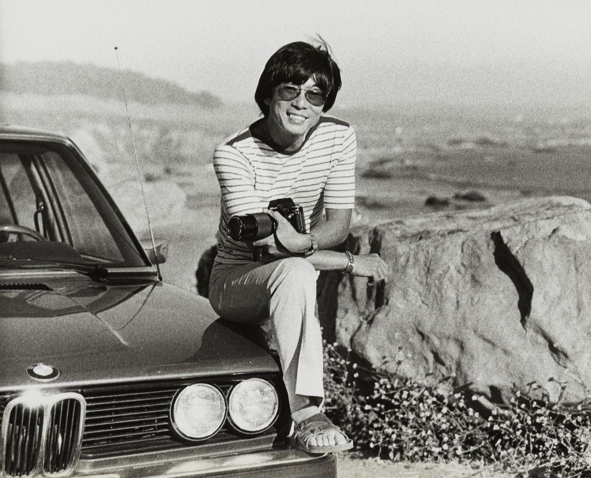Wayne Thom, riding high in Northern California in 1976.
