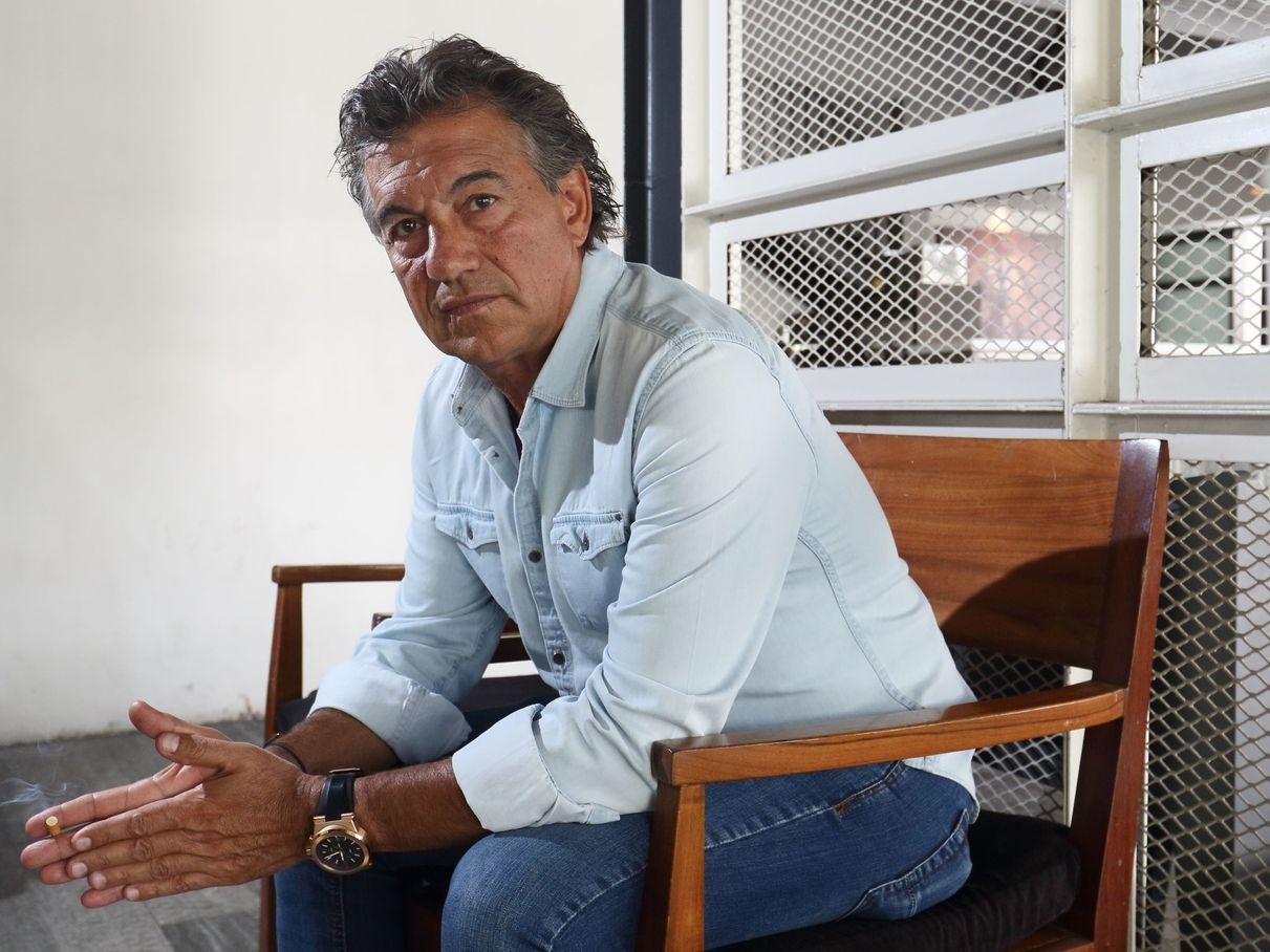 Rubén Omar Romano sufre pérdidas en su restaurante de Guadalajara por el efecto de la pandemia de covid-19.