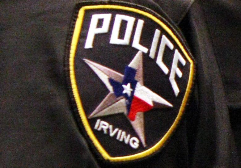 An Irving Police uniform is pictured in this file photo.