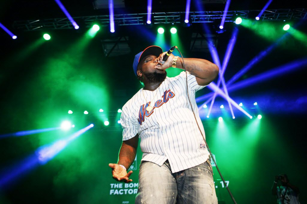Rapper Fat Pimp performs during The D.O.C. Straight Outta Dallas Hip Hop event, on Saturday, Oct. 17, 2015 at The Bomb Factory in Dallas. The event included a red carpet, DJ music and performances by A.Dd+, Big Tuck, Erykah Badu and The D.O.C.